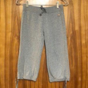 Kid's Gap grey cropped sweatpants
